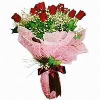 Antalya Melisa çiçek siparişi sitesi  12 adet kirmizi kalite gül