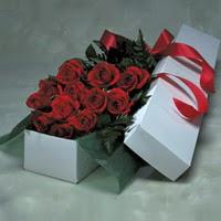 Antalya Melisa online çiçek gönderme sipariş  11 adet gülden kutu