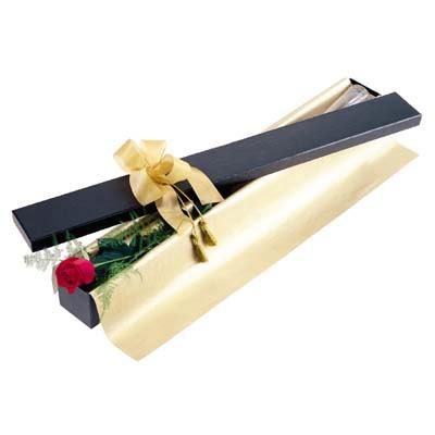 Antalya Melisa uluslararası çiçek gönderme  tek kutu gül özel kutu