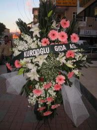 kazablanka,gerbera,sebboy ferforje  Antalya Melisa çiçekçi mağazası