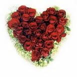 kalp biçiminde 15 gülden   Antalya Melisa güvenli kaliteli hızlı çiçek