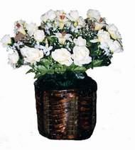 yapay karisik çiçek sepeti   Antalya Melisa cicek , cicekci