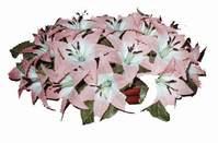 yapay karisik çiçek sepeti   Antalya Melisa çiçekçi mağazası