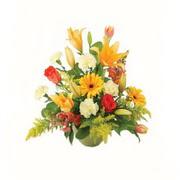 karisik renkli çiçekler tanzim   Antalya Melisa çiçek gönderme sitemiz güvenlidir