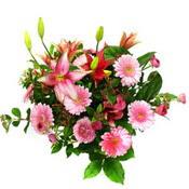 lilyum ve gerbera çiçekleri - çiçek seçimi -  Antalya Melisa çiçek gönderme