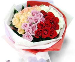 SEVENLERE ÖZEL 51 ADET GÜL  Antalya Melisa internetten çiçek satışı