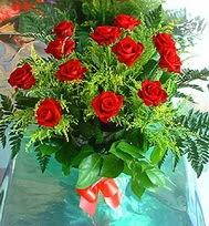 12 adet gül buketi  Antalya Melisa anneler günü çiçek yolla