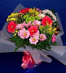 karisik sade mevsim demetligi   Antalya Melisa 14 şubat sevgililer günü çiçek