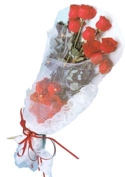 11 adet kirmizi güller buket tanzimi   Antalya Melisa çiçek siparişi sitesi