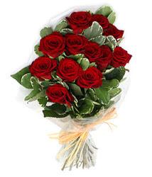 Antalya Melisa çiçek yolla , çiçek gönder , çiçekçi   9 lu kirmizi gül buketi.