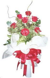 Antalya Melisa çiçek siparişi sitesi  7 adet kirmizi gül buketi