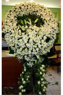 Cenaze çelenk , cenaze çiçekleri , çelengi  Antalya Melisa çiçek satışı