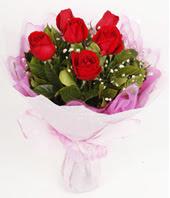 9 adet kaliteli görsel kirmizi gül  Antalya Melisa çiçek gönderme