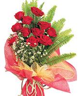 11 adet kaliteli görsel kirmizi gül  Antalya Melisa çiçek satışı