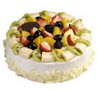 4 ile 6 kisilik yaspasta ürünü  Antalya Melisa Melisa İnternetten çiçek siparişi