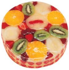 Meyvali 4 ile 6 kisilik yas pasta leziz  Antalya Melisa hediye çiçek yolla