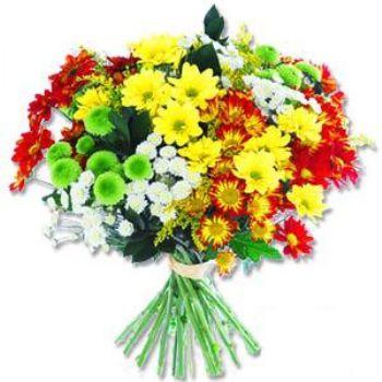 Kir çiçeklerinden buket modeli  Antalya Melisa online çiçek gönderme sipariş