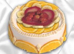 leziz pastane 4 ile 6 kisilik yas pasta meyvali yaspasta  Antalya Melisa kaliteli taze ve ucuz çiçekler