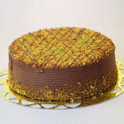 sanatsal pastaci 4 ile 6 kisilik krokan çikolatali yas pasta  Antalya Melisa cicek , cicekci