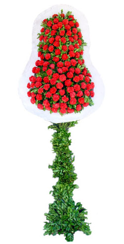 Dügün nikah açilis çiçekleri sepet modeli  Antalya Melisa Melisa İnternetten çiçek siparişi