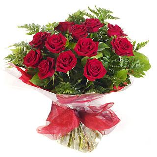 Ucuz Çiçek siparisi 11 kirmizi gül buketi  Antalya Melisa çiçek online çiçek siparişi