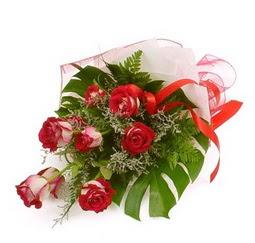 Çiçek gönder 9 adet kirmizi gül buketi  Antalya Melisa çiçek siparişi vermek
