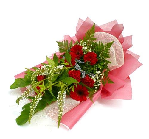 Karisik çiçek buketi mevsim buket  Antalya Melisa çiçek siparişi sitesi