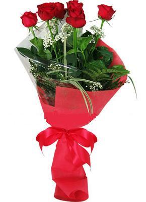 7 adet kirmizi gül buketi  Antalya Melisa çiçek yolla , çiçek gönder , çiçekçi