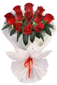11 adet gül buketi  Antalya Melisa internetten çiçek siparişi  kirmizi gül
