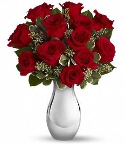 Antalya Melisa çiçek siparişi vermek   vazo içerisinde 11 adet kırmızı gül tanzimi