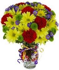 En güzel hediye karışık mevsim çiçeği  Antalya Melisa hediye çiçek yolla