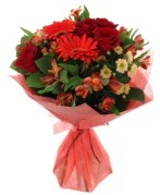 karışık mevsim buketi  Antalya Melisa internetten çiçek siparişi