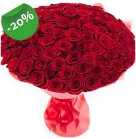 Özel mi Özel buket 101 adet kırmızı gül  Antalya Melisa anneler günü çiçek yolla