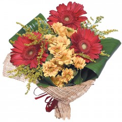 karışık mevsim buketi  Antalya Melisa çiçekçi mağazası