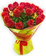 19 Adet kırmızı gül buketi  Antalya Melisa çiçek siparişi vermek