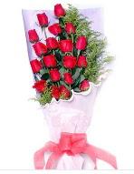 19 adet kırmızı gül buketi  Antalya Melisa uluslararası çiçek gönderme