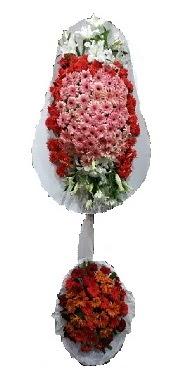 çift katlı düğün açılış sepeti  Antalya Melisa internetten çiçek satışı