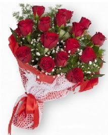 11 kırmızı gülden buket  Antalya Melisa güvenli kaliteli hızlı çiçek