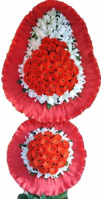 Antalya Melisa online çiçek gönderme sipariş  Çift katlı kaliteli düğün açılış sepeti