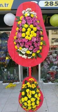 Çift katlı düğün nikah açılış çiçek modeli  Antalya Melisa online çiçek gönderme sipariş