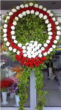 Cenaze çelenk çiçeği modeli  Antalya Melisa anneler günü çiçek yolla