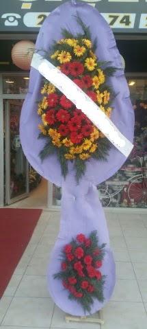 Çift katlı nikah düğüne çiçek modeli  Antalya Melisa internetten çiçek siparişi