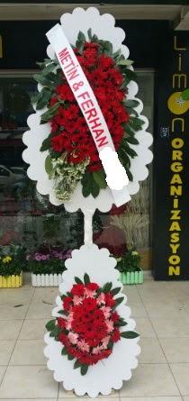 Çift katlı düğün nikah çiçeği modeli  Antalya Melisa çiçek siparişi sitesi