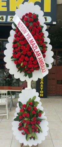 Çift katlı düğün nikah çiçeği modeli  Antalya Melisa hediye çiçek yolla
