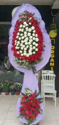 Çift katlı işyeri açılış çiçek modeli  Antalya Melisa ucuz çiçek gönder