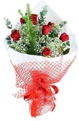 7 adet gülden kız arkadaşıma çiçek  Antalya Melisa çiçekçi telefonları