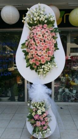 Çift katlı özel şahane sepet çiçeği  Antalya Melisa çiçekçi telefonları