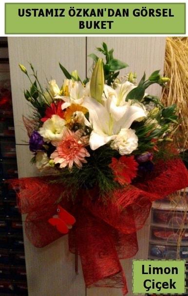 Karışık görsel mevsim çiçeği  Antalya Melisa ucuz çiçek gönder