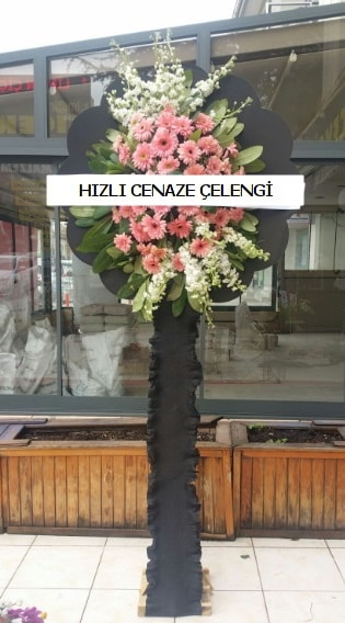 Hızlı cenaze çiçeği çelengi  Antalya Melisa çiçek yolla