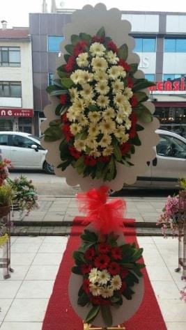 Çift katlı düğün açılış çiçeği  Antalya Melisa çiçek satışı